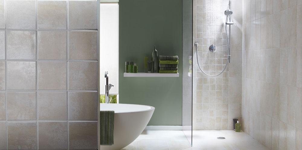 Contempory bathroom image