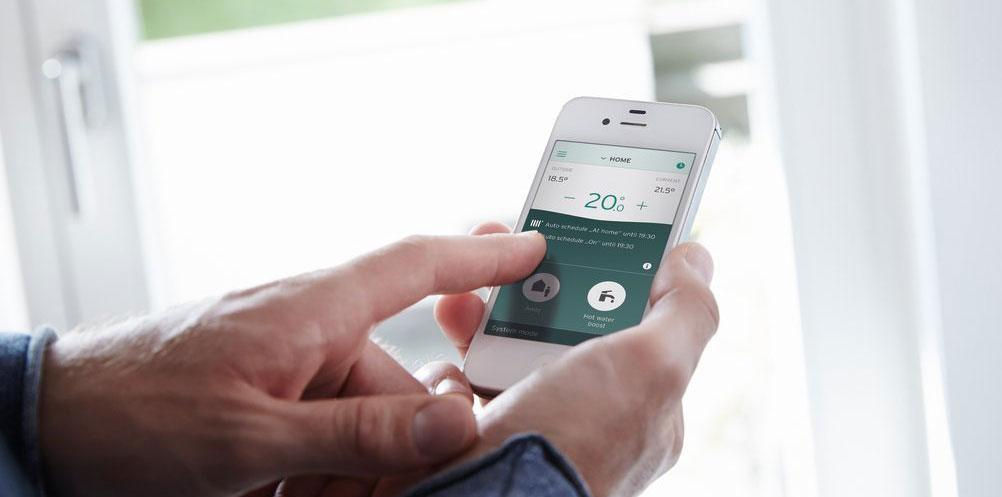 smart control for your heating and hot water