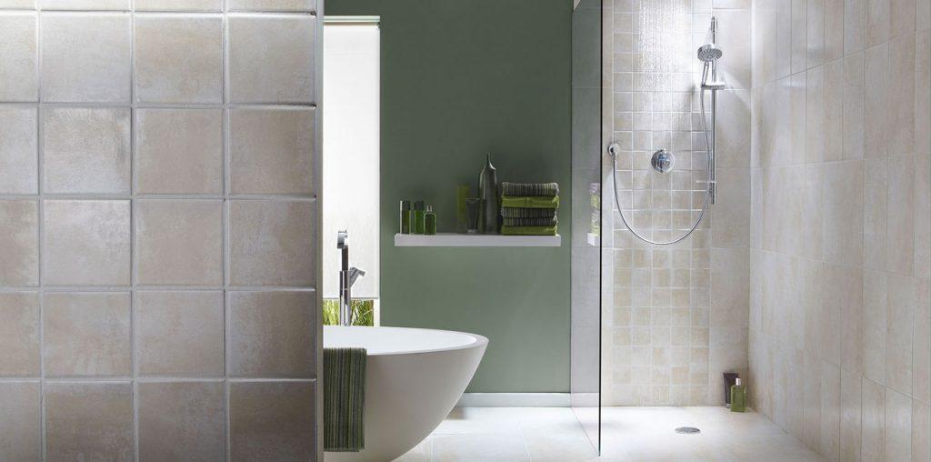 Luxury bathroom and shower image